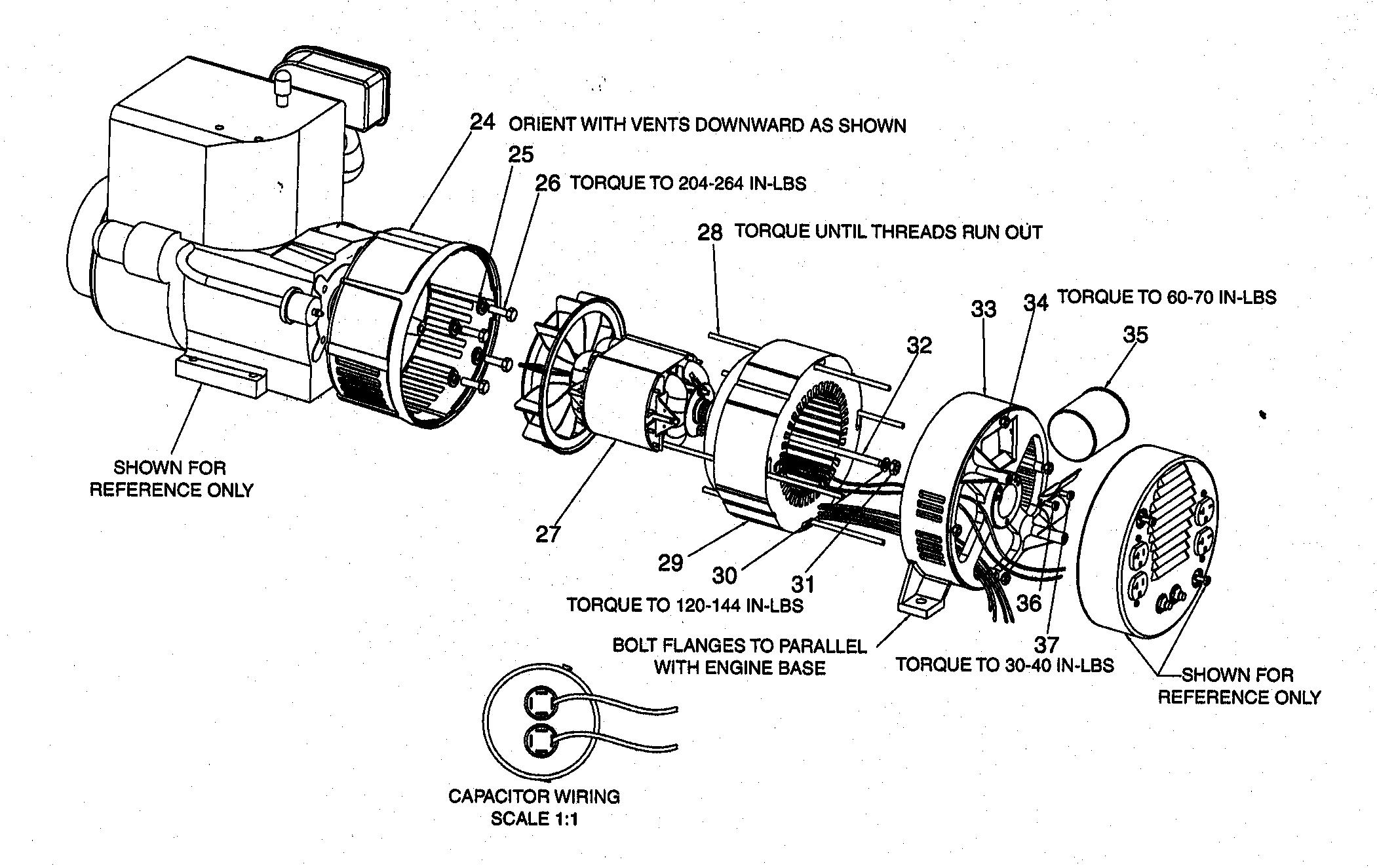 ENGINE Diagram & Parts List for Model GBVE8000 Devilbiss