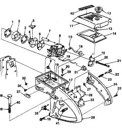 homelite ut10045 carburetor chamber diagram [ 2381 x 2416 Pixel ]