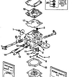 homelite ut10045 sdc 62 carburetor diagram [ 1913 x 2966 Pixel ]