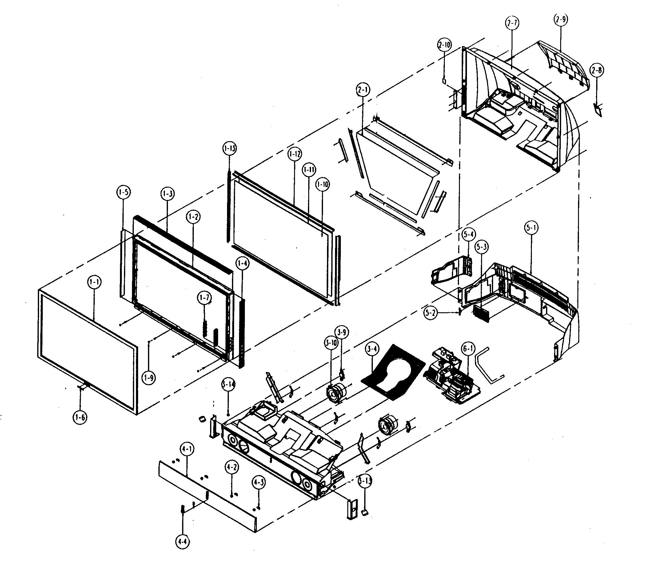 Samsung Dlp Parts Diagram Samsung Electronics Parts