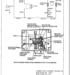 wiring diagram for a bench grinder simple wiring schema bench grinder safety 8 bench grinder wiring diagram [ 2291 x 2993 Pixel ]