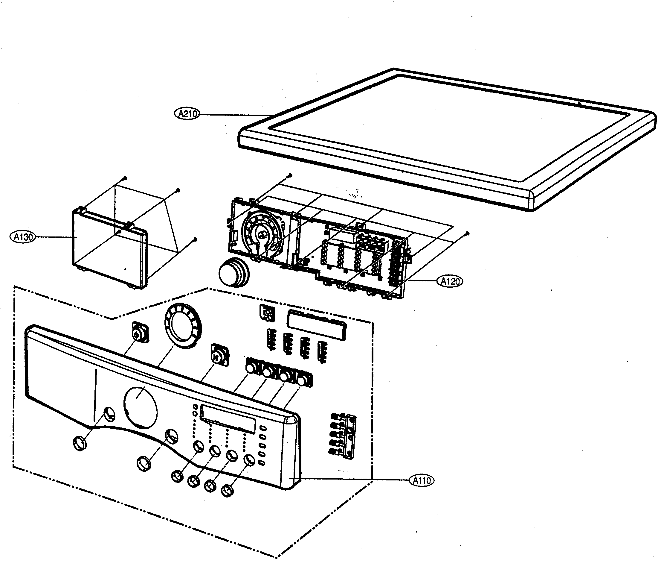 Front Load Washer: Lg Front Load Washer Parts Diagram