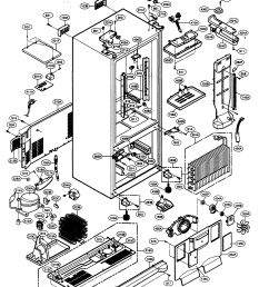 kenmore elite 79575192400 case parts diagram [ 2147 x 2650 Pixel ]