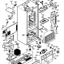 Sears Kenmore Refrigerator Wiring Diagram Land Rover Discovery Radio Elite Parts Model 79575194400