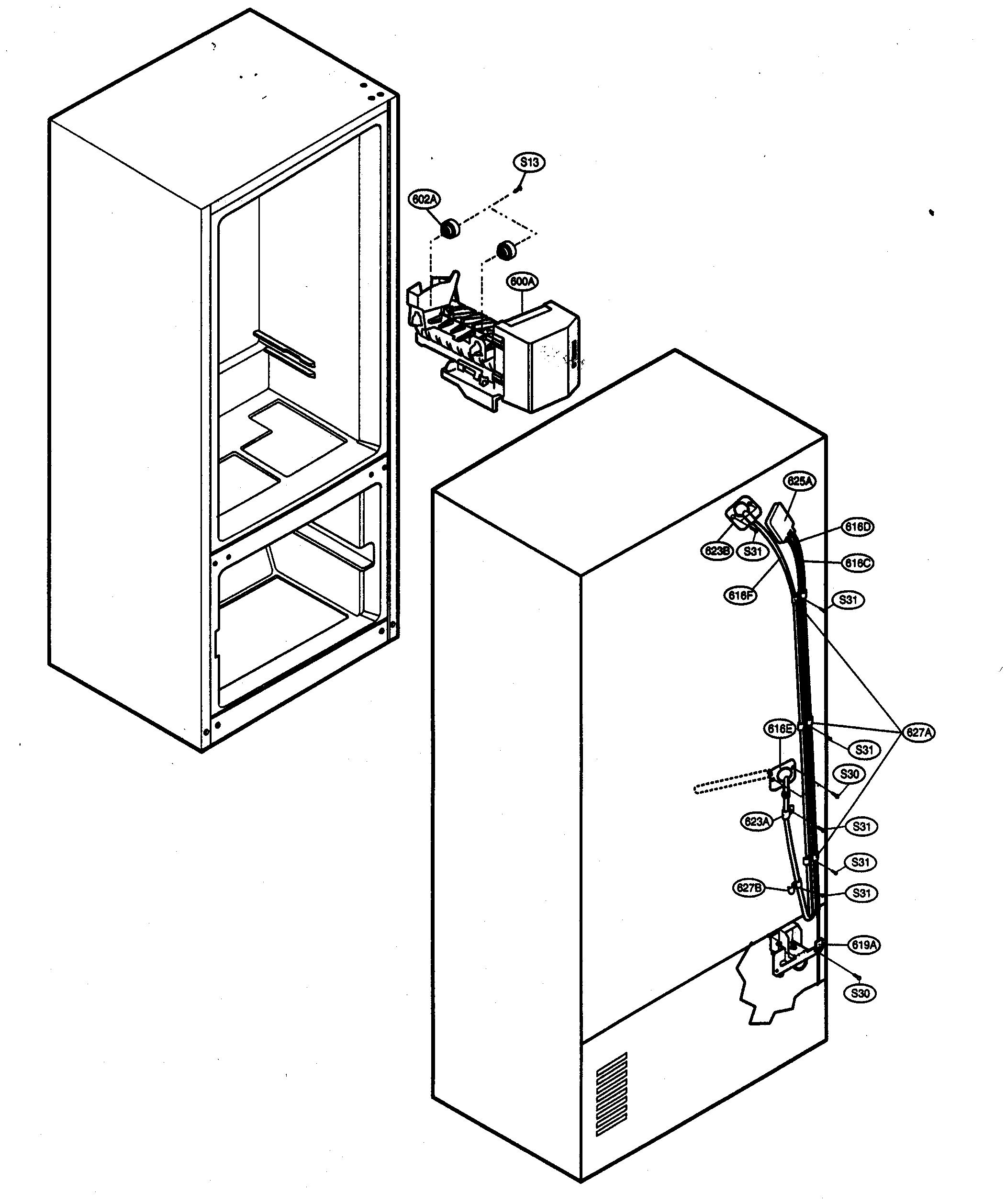 Wiring Diagram For Refrigerator