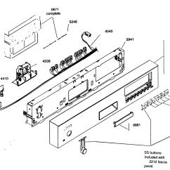 Kenmore Elite Parts Diagram Wiring 12 Volt Dishwasher Model 63016303400 Sears