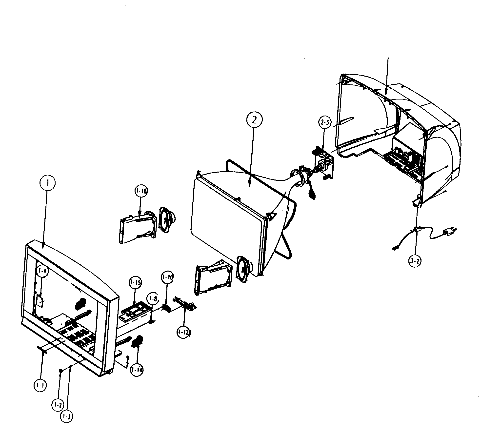 diagram parts list for model ln37b530p7fxza samsungparts television