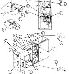 carrier 58mvp080 casing assy 2 diagram [ 2210 x 2452 Pixel ]