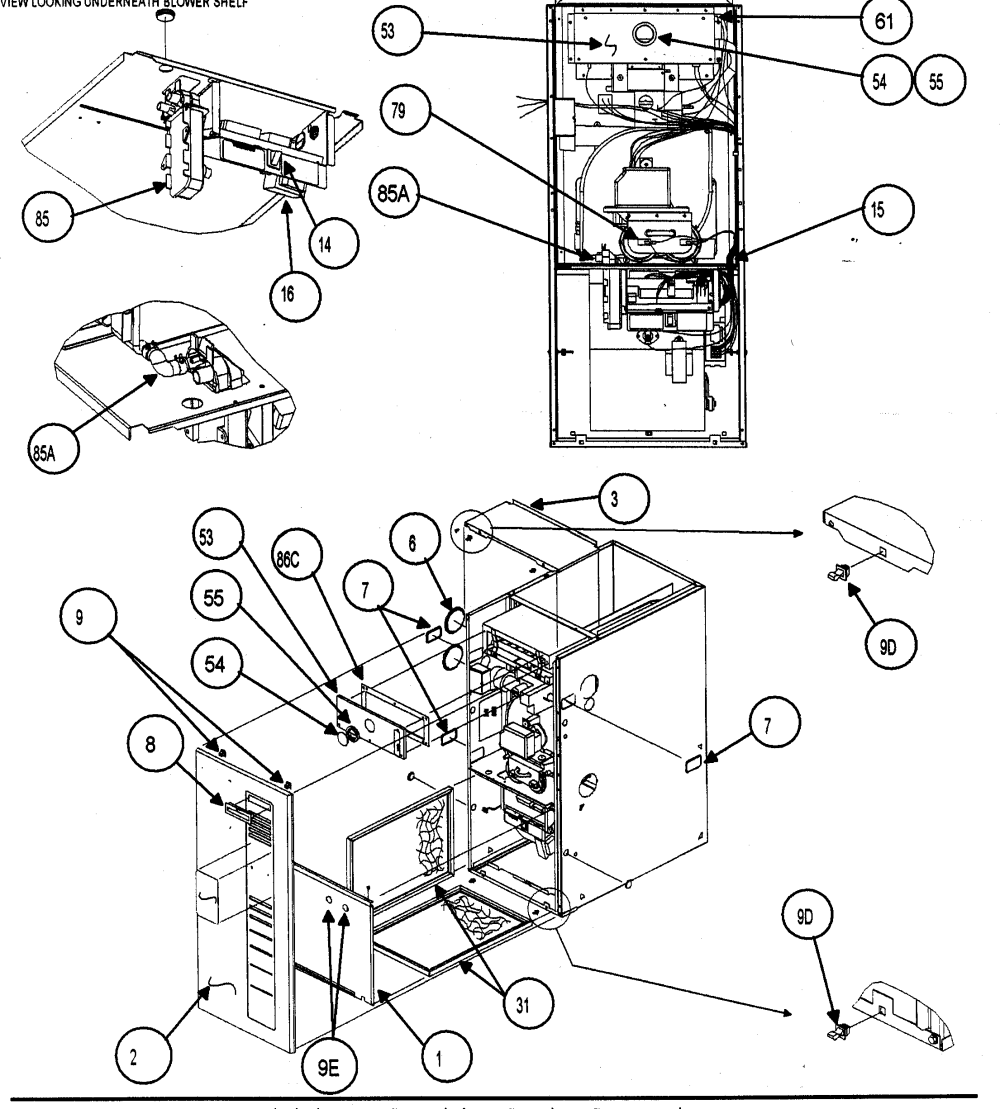 medium resolution of carrier 58mvp080 casing assy 2 diagram