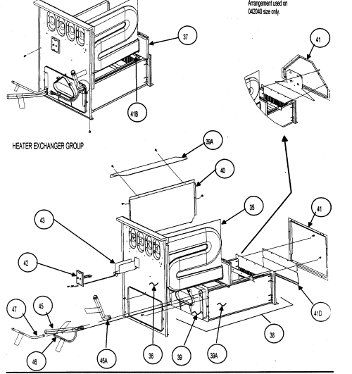 small resolution of carrier 58mvp080 heater exchanger diagram