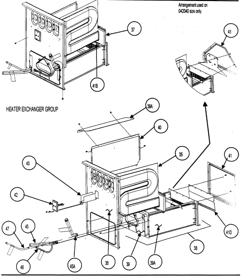 small resolution of carrier model 58mvp080f15120 furnace heater gas genuine parts rh searspartsdirect com carrier gas furnace parts diagram coleman gas furnace diagram