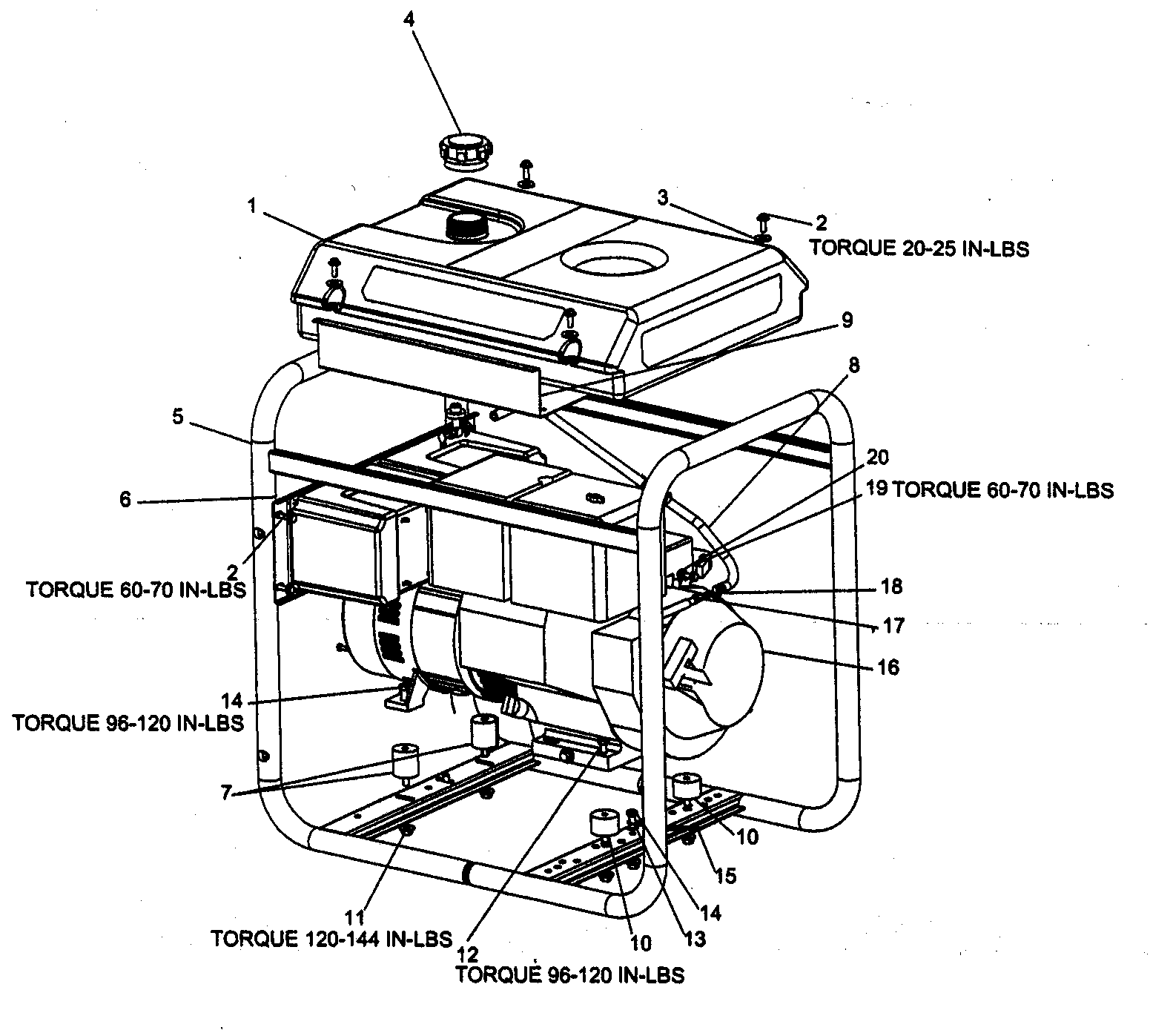 hight resolution of craftsman 919670040 generator 1 diagram
