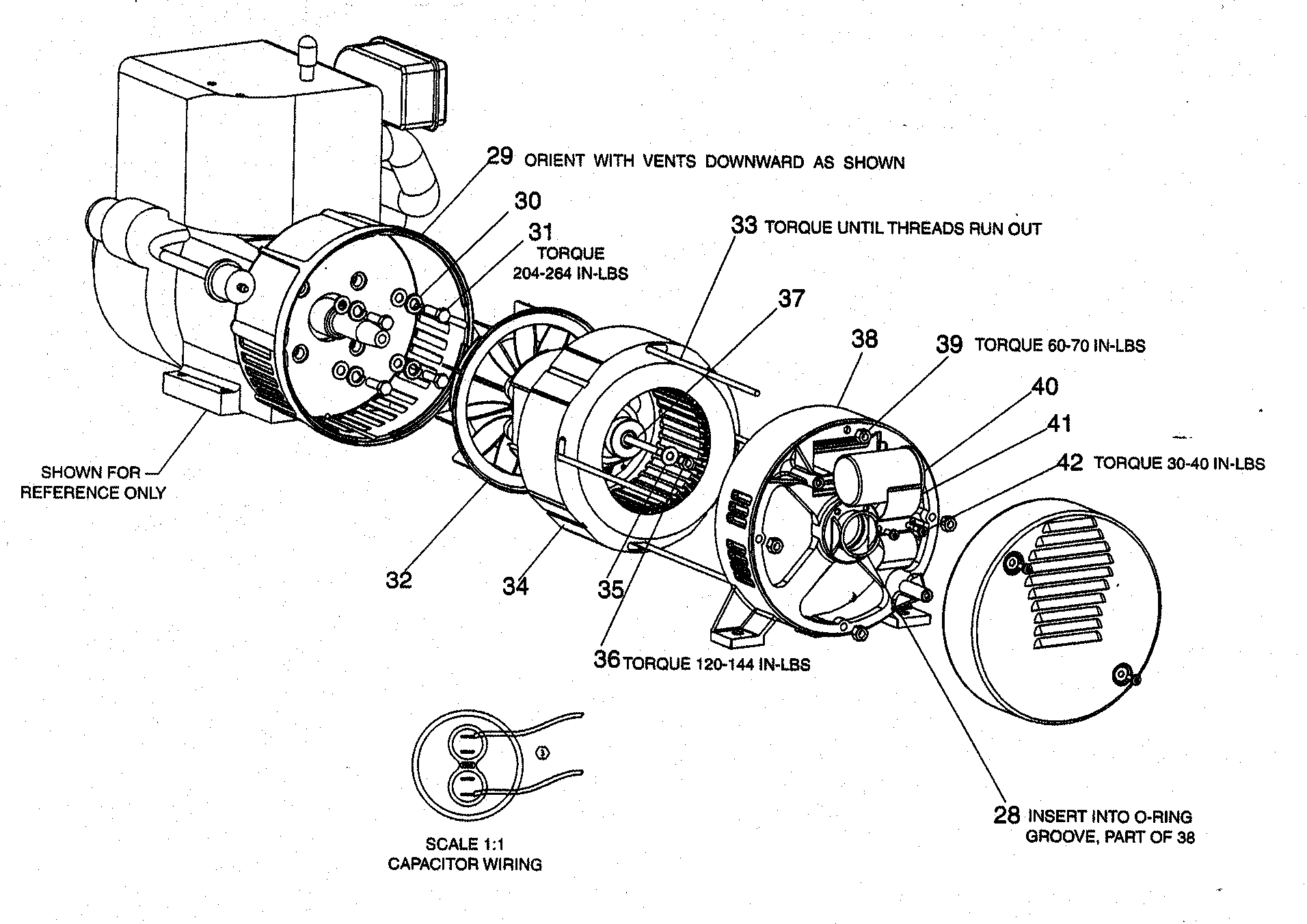 hight resolution of companion 919327211 elec motor assy diagram