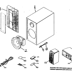 Parts Of A Speaker Diagram Pontiac G6 Headlight Wiring And List For Model Nxp150 Yamaha