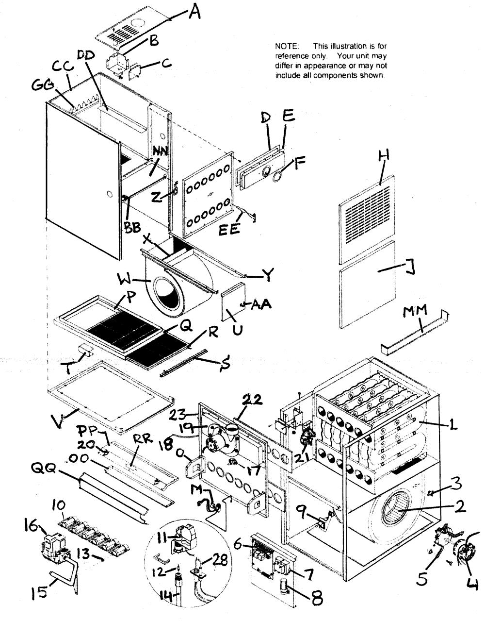 medium resolution of trane furnace schematics online manuual of wiring diagram trane furnace parts saskatoon c searspartsdirect com lis png