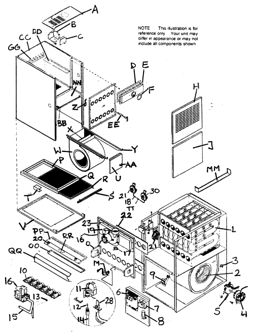 small resolution of york gas furnace parts diagram wiring source coleman mobile home furnace schematics mobile home intertherm furnace parts diagram
