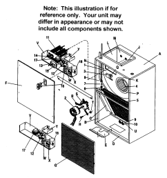 goodman air handler part diagram [ 2246 x 2452 Pixel ]