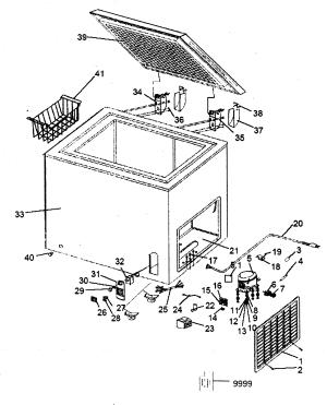 HAIER FREEZER Parts | Model hcm070la | Sears PartsDirect
