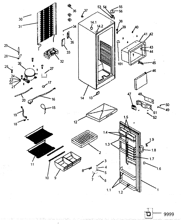 Haier Refrigerator Wiring Diagram | Wiring Liry on