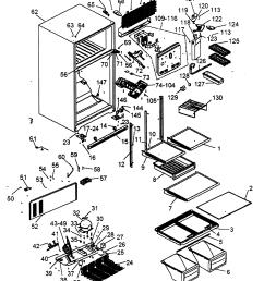 refrigerator parts diagram photos [ 2192 x 2588 Pixel ]