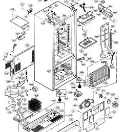 kenmore elite 79575199401 case parts diagram [ 2120 x 2668 Pixel ]