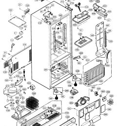 kenmore elite model 79575543401 bottom mount refrigerator genuine parts rh searspartsdirect com kenmore chest freezer small [ 2065 x 2677 Pixel ]