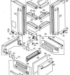 kenmore refrigerator parts diagram wiring diagram insiderlooking for kenmore elite model 79575543400 bottom mount kenmore appliance [ 2056 x 2686 Pixel ]