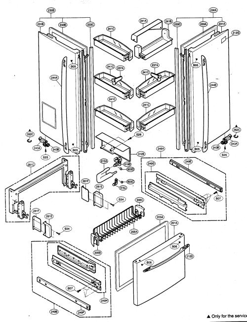 small resolution of kenmore refrigerator parts diagram wiring diagram insiderlooking for kenmore elite model 79575543400 bottom mount kenmore appliance
