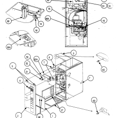 Carrier Gas Furnace Wiring Diagram 1995 Mazda Protege Radio Cabinet Parts Model 58msa06012112