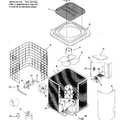 Air Conditioning Components Diagram 2002 Hayabusa Wiring Icp Heat Pump Parts Model Hhp230aka1 Sears Partsdirect