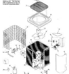 icp model hhp248aka1 air conditioner heat pump outside unit genuine parts [ 2300 x 2777 Pixel ]