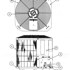 Air Conditioning Components Diagram F250 Trailer Wiring Carrier Heat Pump Parts Model 38ycc024series300 Sears