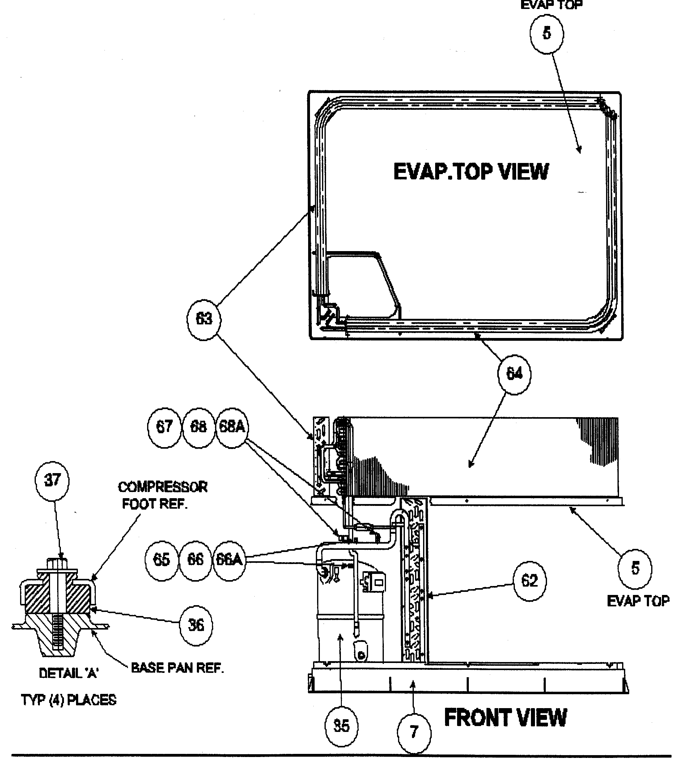 GAS SECTION Diagram & Parts List for Model