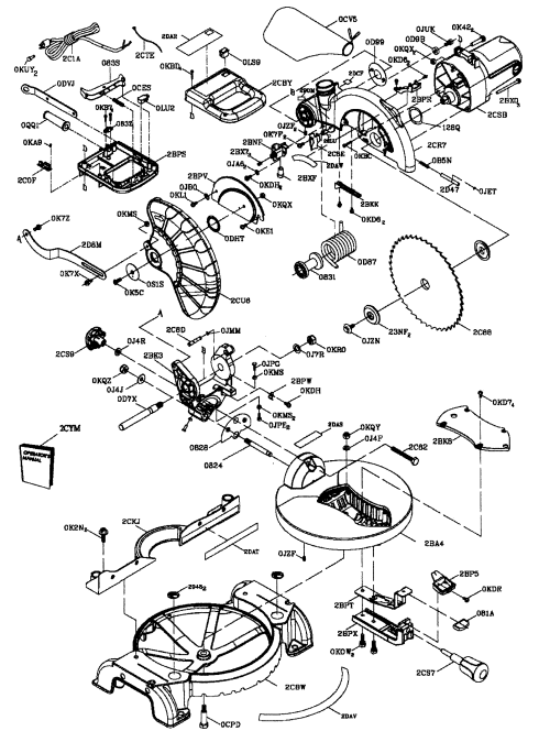 small resolution of craftsman 137212290 saw diagram