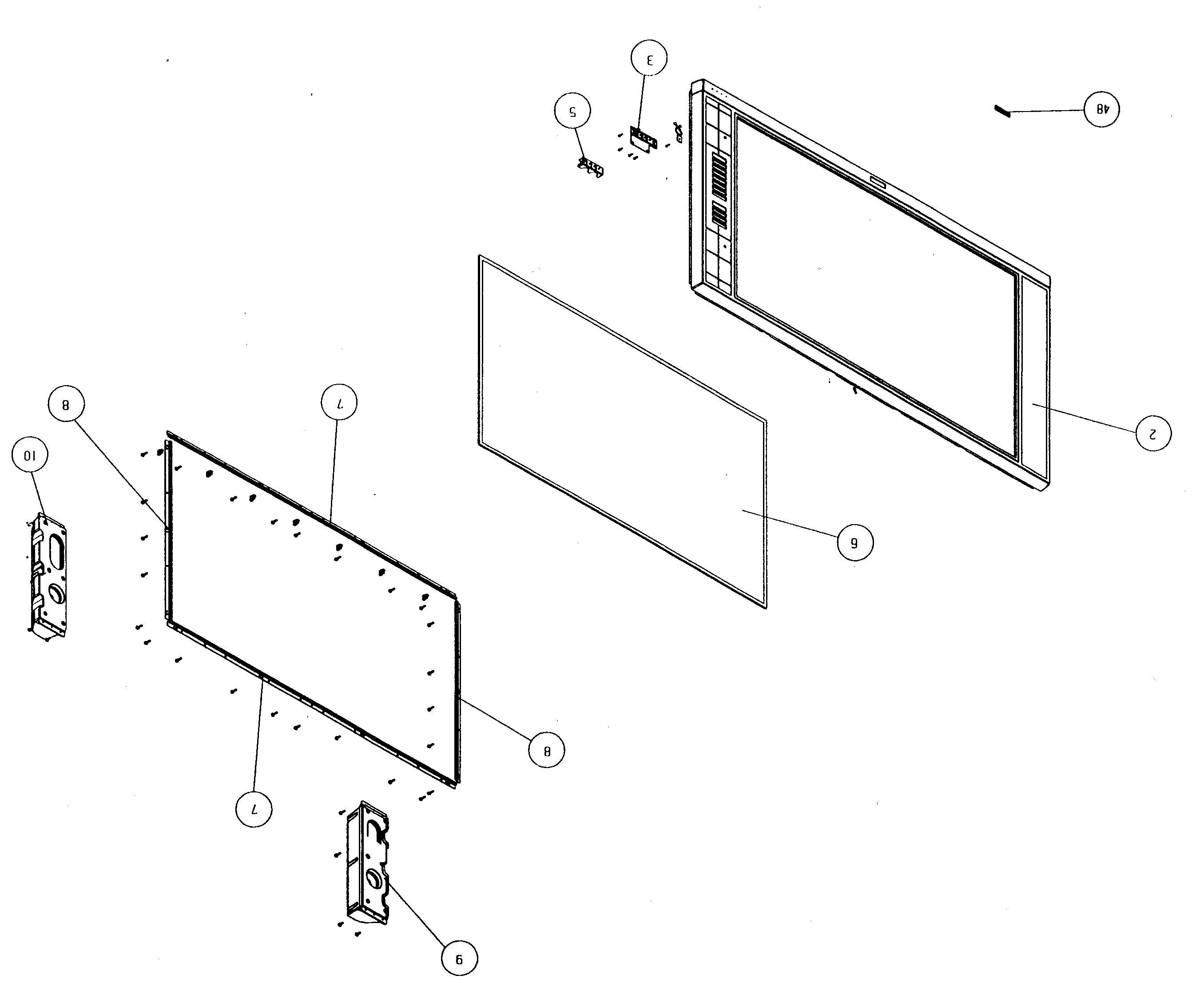 Hitachi Parts Tv