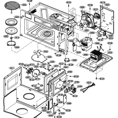 Kenmore Elite Parts Diagram Pit Bike Wiring Interior 1 And List For Model