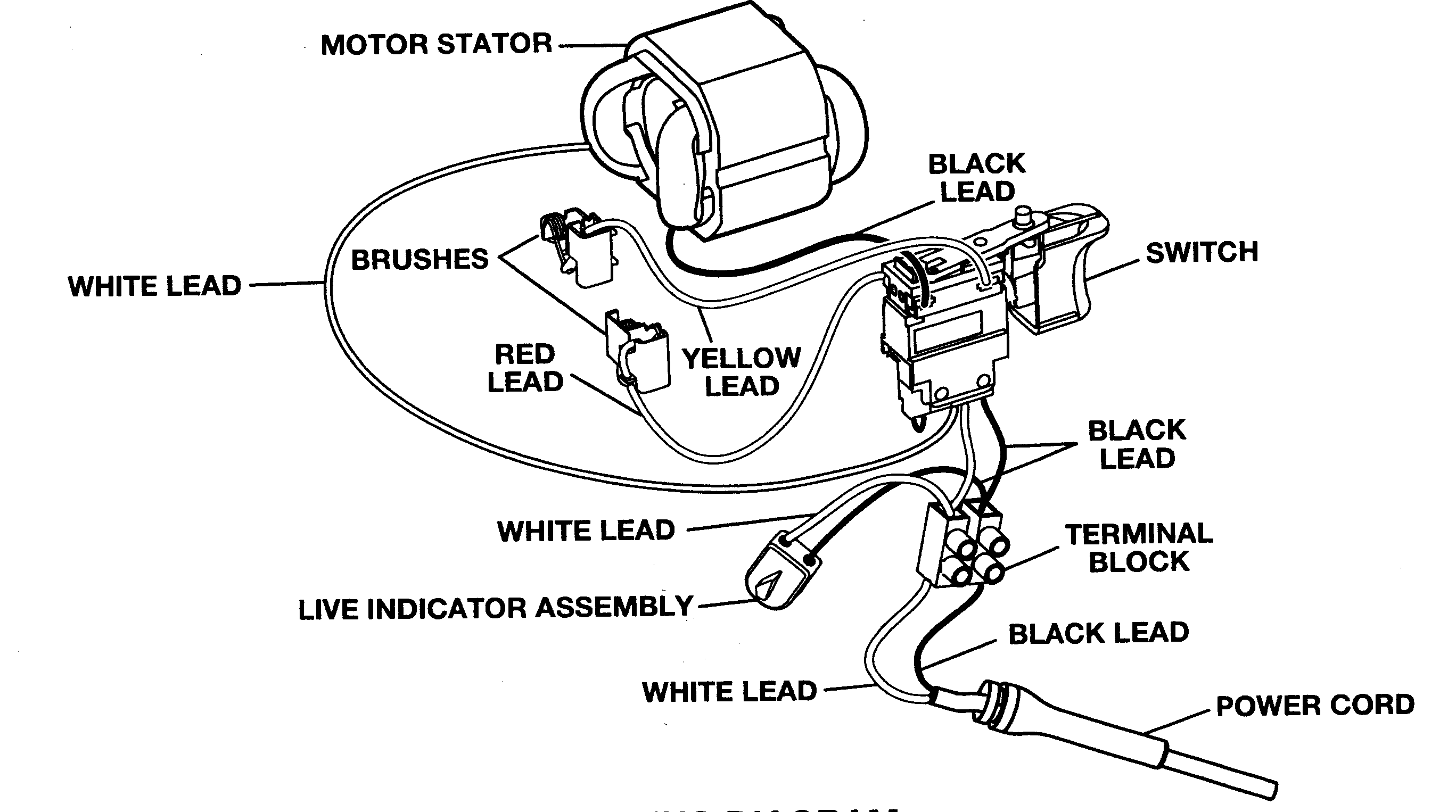 medium resolution of wiring diagram for power tool switch