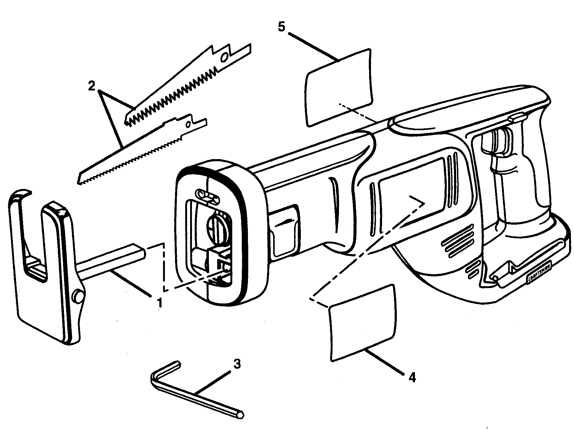 hight resolution of wiring diagram for sears craftsman reciprocating saw