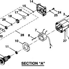 Capacitor Start Motor Wiring Diagram Craftsman Fog Light Hid Model 315218060 Table Saw Genuine Parts