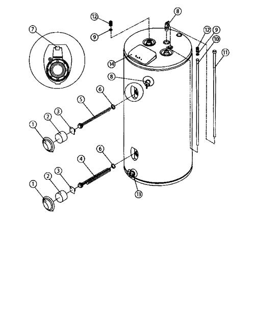 small resolution of american waterheaters water heater parts model order whirlpool water heater parts whirlpool hot water heater parts