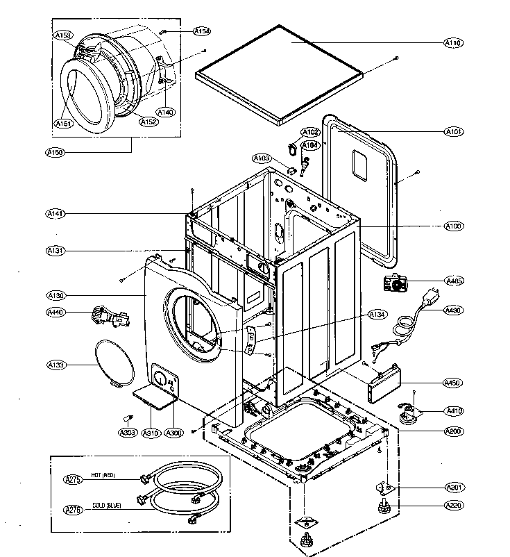 Lg Front Load Washer Parts