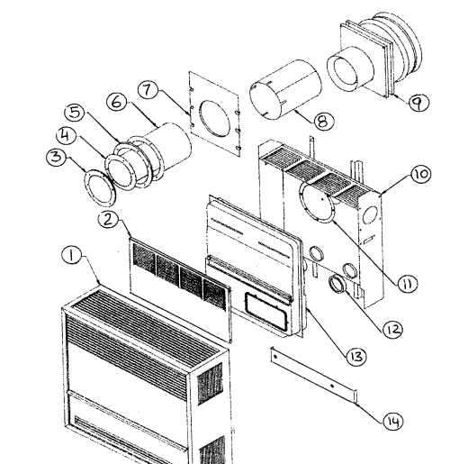 small resolution of gas valve wall heater images