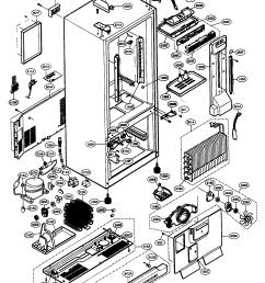 kenmore refrigerator parts diagram wiring diagram split kenmore fridge schematic [ 1521 x 2095 Pixel ]