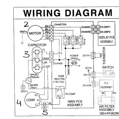 Wiring Diagram Carrier Central Air Conditioner 2006 Jeep Commander Fuse Friedrich Room Parts Model Us08b10a