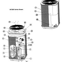 Nordyne Condenser Unit Wiring Diagram Tekonsha P2 Prodigy Electric Trailer Brake Controller Heat Pump Parts 31 Images