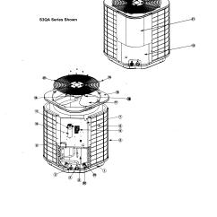 Nordyne Heat Pump Parts Diagram Yard Machine Mower Air Conditioner Model