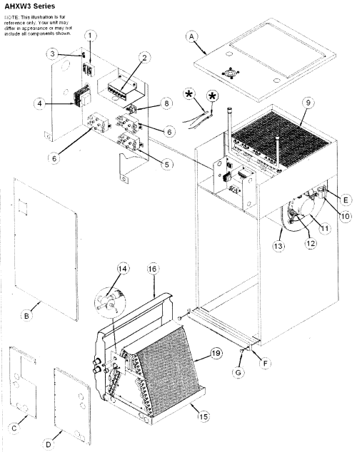 small resolution of icp ahxw36000a1 air handler diagram