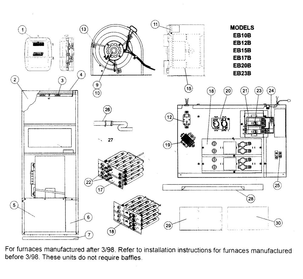 medium resolution of looking for coleman evcon model eb12b rev f furnace repair evcon eb12b wiring diagram