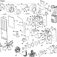 Miller Electric Furnace Wiring Diagram Bathroom Exhaust Fan With Light Nordyne Model M1gh056 Heater Gas Genuine Parts