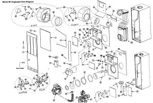 NORDYNE FURNACE Parts | Model M1SB086 | Sears PartsDirect